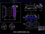 Box Culvert Concrete Reinforcement Details CAD Template DWG
