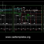 Factory Detail Section CAD Template DWG