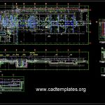 Factory Pit Layout Details CAD Template DWG