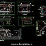 Guard House Section Details CAD Template DWG
