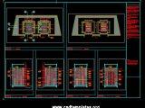 Lift Cabin Details CAD Template DWG