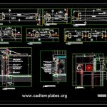 Typical Factory Entrance Detail CAD Template DWG