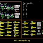 Uniflar Diagrams Plan and Symbols CAD Template DWG