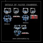 Details Of Valves Chambers CAD Template DWG