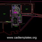 Factory Access Roads CAD Template DWG