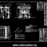 Gantry Crane General Drawing CAD Template DWG