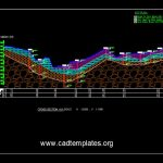 Geotechnical Cross Section Cad Template DWG