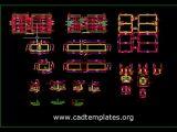Irrigation Tank Reinforcement Details CAD Template DWG