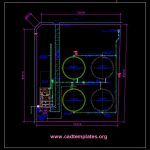 Reservoir Site Development Plan CAD Template DWG