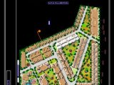 Housing Project General Plan CAD Template DWG