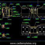 Machine Protection Details CAD Template DWG