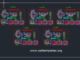 Reinforcement Details Of Pit Pot CAD Template DWG