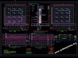 Retaining Wall Concrete Reinforcement Details CAD Template DWG