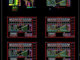Showroom Electrical Scheme Layout CAD Template DWG