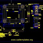 Foundation For Siemens Compass Layout Plan CAD Template DWG