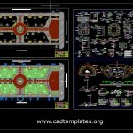Square Of Weapons Plan and Structural Details CAD Template DWG