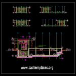 Water Tank Plans CAD Template DWG