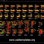 The Most Useful Plumping Autocad Blocks CAD Template DWG