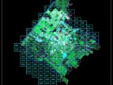 Cadastral Map Layout Plan CAD Template DWG
